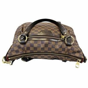 b18a7aa45c41 LOUIS VUITTON Bags - LOUIS VUITTON Evora MM Damier Ebene Tote Shoulder